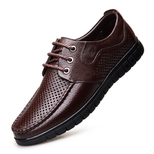 Brand Leather Concise Men Business Dress Round Toe Black Shoes Breathable Formal Wedding Basic Shoes Men men shoes quality leather dress round toe shoe men brand brogue black business wedding casual shoes