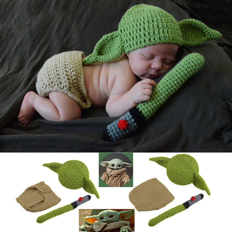 Star Wars The Mandalorian Baby Yoda Kid/'s Hat Children Cosplay Costume