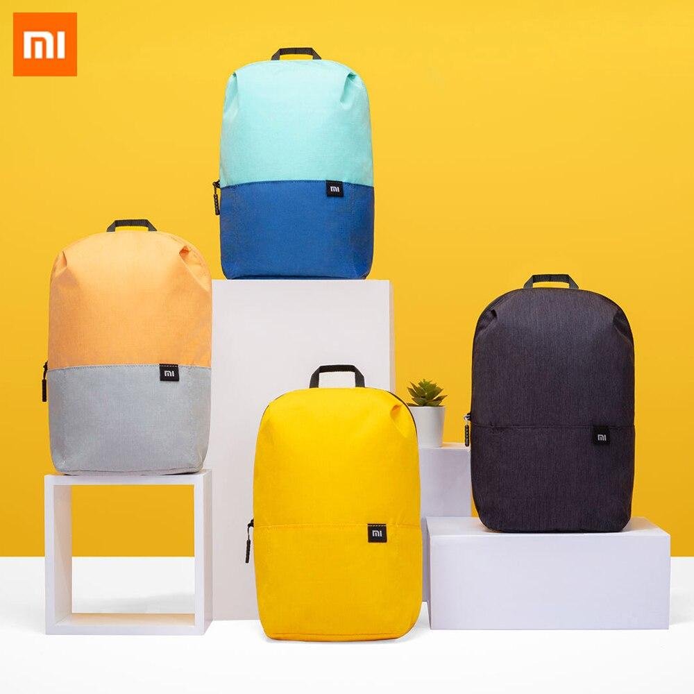 Original Xiaomi Mi Mini Backpack 7L 15L 20L Big Capacity Men Women Travel Bag Urban Leisure Back Pack Colorful Sports Chest Bag