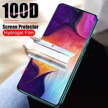 100d filme de hidrogel macio vidro temperado para samsung galaxy a10 a20 a30 a40 a50 a70 protetor de tela a 10 20 30 50 70 (não vidro)
