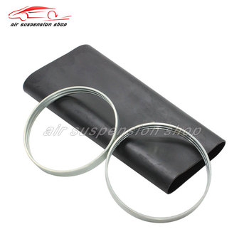 1 set Rear Air Sleeve w/ Crimping Ring for Mercedes Benz W220 S280 S320 S350 Air Suspension Sock 2203205013 Car Repair Kit|Shock Absorber Parts|   -