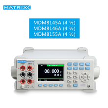 Digital Multimeter Bench High Precision 4½~5½ digit with capacitance measurement MDM-8145A 8146A 8155A MATRIX