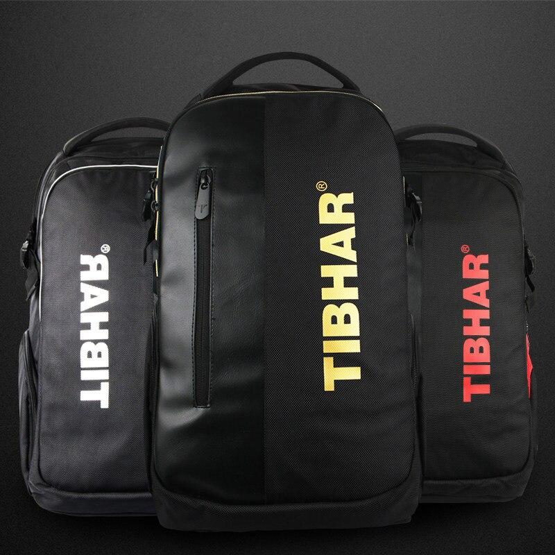 TIBHAR новый рюкзак Tibhar для настольного тенниса, многофункциональная сумка для пинг понга, спортивные сумки для ракетки, сделано в германии