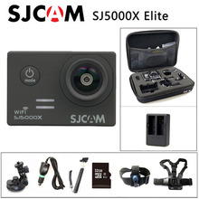 Livraison gratuite!! SJCAM SJ5000X Elite WiFi 4K 24fps 2K 30fps caméra daction sport gyroscopique