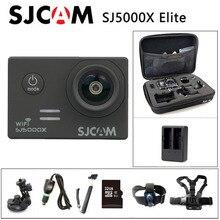 شحن مجاني!! الأصلي SJCAM SJ5000X النخبة واي فاي 4K 24fps 2K 30fps الدوران الرياضة عمل الكاميرا