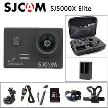 Ücretsiz kargo!! Orijinal SJCAM SJ5000X Elite WiFi 4K 24fps 2K 30fps Gyro spor eylem kamera