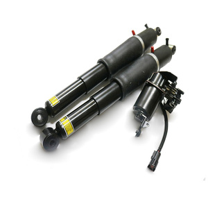 Image 4 - For Chevrolet Tahoe Suburban GMC Yukon Cadilac DTS Rear Air Suspension Shock Compressor  pump 1575626 25979391 25979393