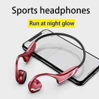 Für Huawei Xiaomi Drahtlose Kopfhörer Knochen Leitung Bluetooth 5,0 Headset Anti-schweiß Licht Sport-Stereo-Kopfhörer