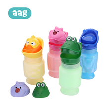 AAG Foldable Children Travel Potty Baby Road Urinal Pot Cartoon Safe Portable Urine Throne Kids Toilet for Adults