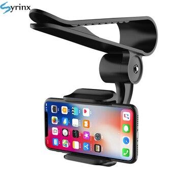 Soporte de teléfono móvil para Iphone Xs, GPS, espejo retrovisor, 2020