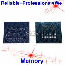 SDINADF4 128G BGA153Ball EMMC5.1 EMMC128GB EMMC128G EMMC 128GB 128G bellek yeni orijinal ve İkinci el lehimli topları test tamam