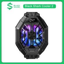 Novo original preto tubarão cooler 2 com display de temperatura volta clipe para tubarão preto 4 3 pro telefone radiador para rog 5 oneplus 9