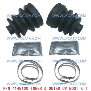 Image 5 - CV Axle Drive shaft Rear  CV Joint Plunging  CV BOOT KIT FOR YAMAHA Grizzly 550 YFM5FG 2009 2011 & Grizzly 700 YFM7FG 2007 2013