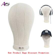 цена BOLI  Canvas Head Mannequin Head Stand For Hats Ear Warmer Bow-knot Scarf Headwear Window Shop Display Products to Buyers онлайн в 2017 году