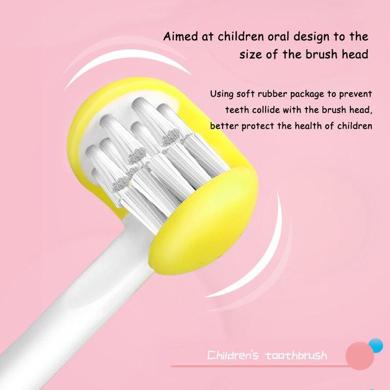 em forma de u dentes escova de limpeza para crianças