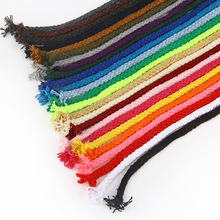 Decoration Cotton-Rope Lanyard Thread-Cord Craft Twisted for DIY Ficelles Couleurs 5yards/Lot