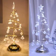 Battery Operated LED Crystal…