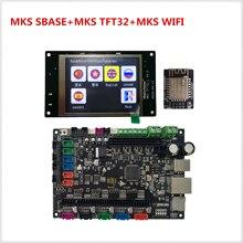 MKS SBASE V1.3 + MKS TFT32 V4.0 + MKS TFT WIFI 3Dเครื่องพิมพ์อิเล็กทรอนิกส์อุปกรณ์เสริมAll In One Smoothieboard smoothieware