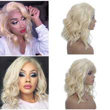 613 Blonde Lace Front Wig Deep Body Wave Ombre Human