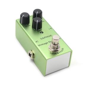 Image 4 - Saphue Elektrische Gitaar Pedaal Vintage Overdrive/Distortion Crunch/Distortion/Us Droom/Classic Chorus/Vintage Fase/Digitale Vertraging