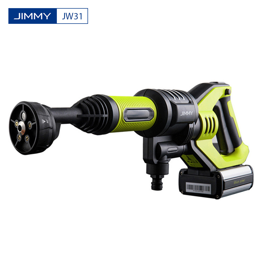 JIMMY JW31 Wireless Handheld Automobiles Wash Gun High Pressure Car Washer Snow Foam Water Power Cleaner Multifunctional Nozzle