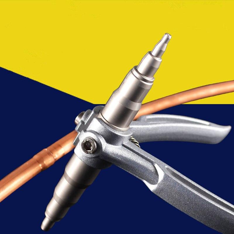 1PCS Manual Copper Tube Expander Casing Roller Refrigeration Tools 6-22mm Range