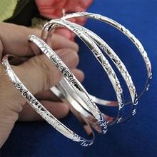 Ensemble de bracelets pour femmes, 5 pièces, motif de fleur, sculpture Simple, manchette, accessoires, amulette