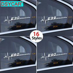 DSYCAR 1Pcs For BMW E28 E30 E34 E36 E39 E46 E53 E60 E61 E62 E70 E87 E90 E91 E92 E93 Car Side Window Stickers Car Sticker