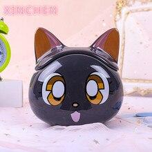 XINCHEN   2020  Sailor Moon Mug Luna 3D Coffee And Drink Cup High Temperature Manufacture Ceramics