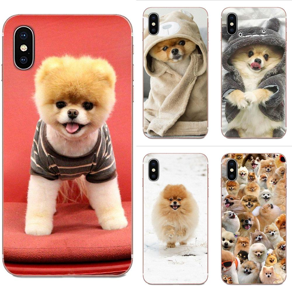 TPU <font><b>Phone</b></font> <font><b>Cases</b></font> Funny Cute Pomeranian <font><b>Dog</b></font> For <font><b>Galaxy</b></font> Grand <font><b>A3</b></font> A5 A7 A8 A9 A9S On5 On7 Plus Pro Star 2015 2016 <font><b>2017</b></font> 2018 image
