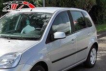 Подходит для Ford Fi̇esta HB 2002 и постугольный двери (6 шт.), стильные аксессуары изменение дизайн автомобильного тюнинга