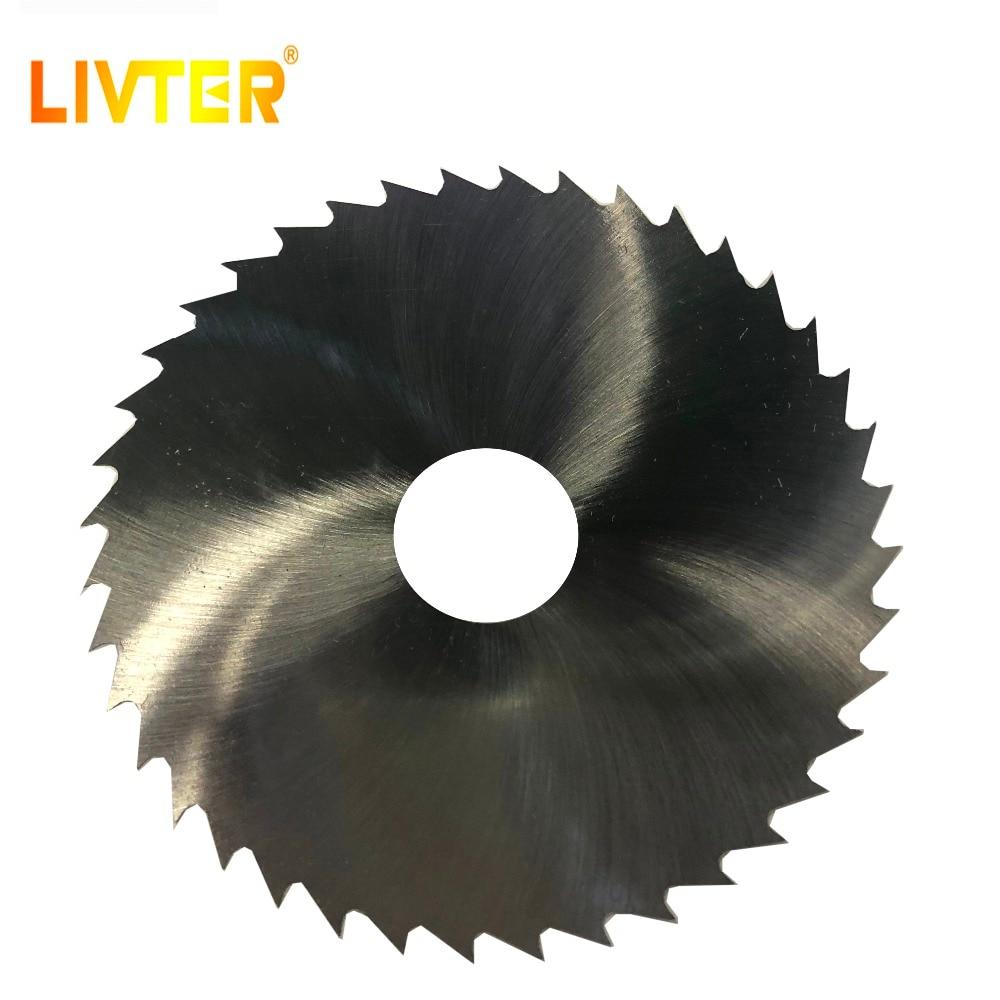 LIVTER HSS Hss Circular Disc Saw Blade M42 Material Mini Size 3.94inch Power Tools 10pcs Freeshipping 40T Superthin Freeshipping