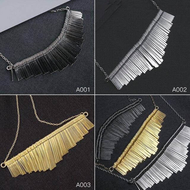 Купить модные ювелирные изделия shuangr женские массивные ожерелья картинки