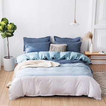 Candy Color Soft Bed Cover Set