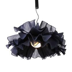 Nordic Ins lampa wisząca ciepły romantyczny lampka do sypialni Cafe Bar lampa wisząca dania Design lampa wisząca lampa ozdobna do domu