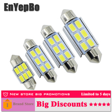 4x Car Interior Light 31mm 36mm 39mm 41mm LED Bulb SV8.5 C10W C5W Festoon Vanity Mirror Dome Reading Door Number