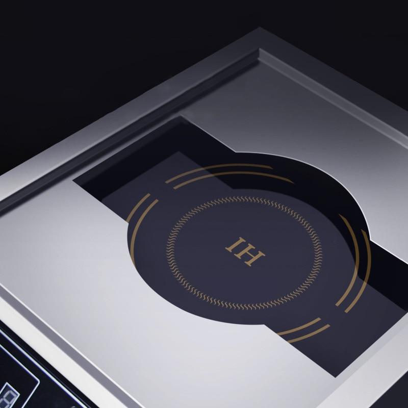 Коммерческая индукционная плита 5000 Вт самолет Высокая мощность суп тушеная лапша плита Коммерческая электрическая плита ресторан столовая 380В 4