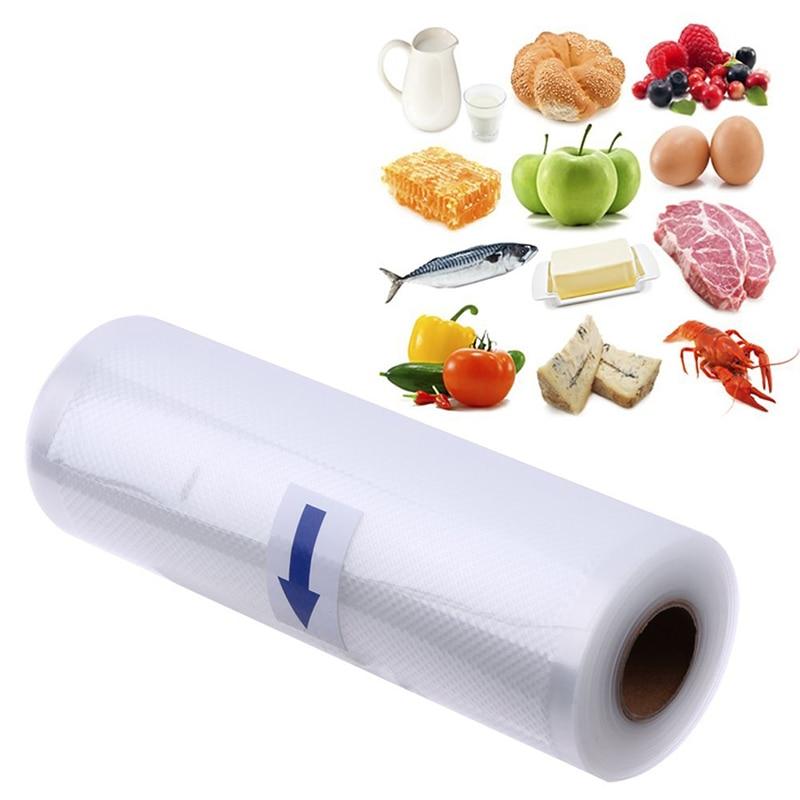 Вакуумный пакет для хранения пищевых продуктов с линиями, кухонный герметик, рулоны па, пищевые мембраны для сохранения свежести, упаковка ...