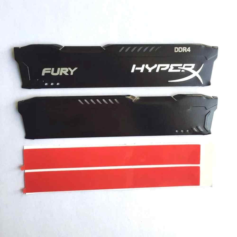 1Set RAM المبرد المبرد التبريد بالوعة الحرارة برودة ل DDR2 DDR3 DDR4 ذاكرة عشوائيّة للحاسوب المكتبي لوحة تبديد الحرارة