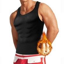 Sweat Slimming Underwear for Men Neoprene Body Shaper Modeling Strap Male Zipper Vest Waist Trainer Thermo Sauna Suits 5XL