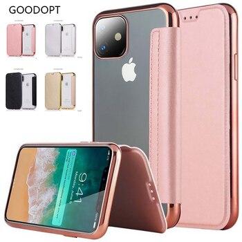 Θήκη για iphone 11 pro max leather x xr xs max 5 5s 6 6s 7 8 plus .