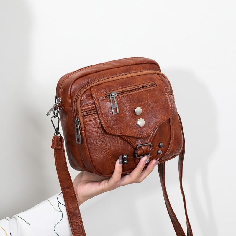 Women Handbags Bags for Women 2020 New Luxury Handbags PU Leather Purses and Handbags Vintage Designer Bag Luxury Crossbody Bags