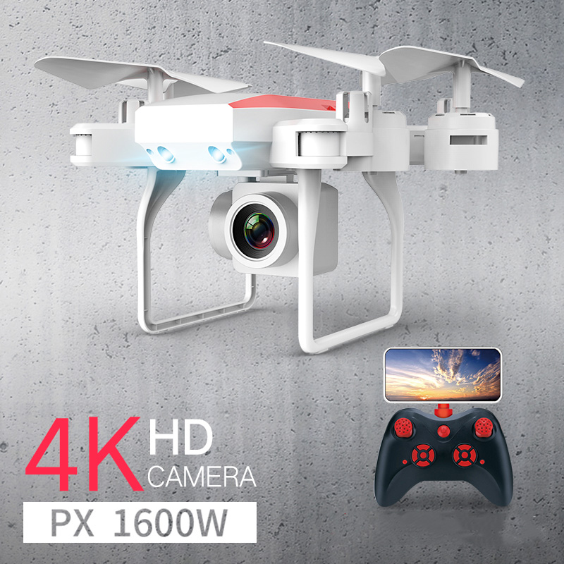 New RC Drone Helicopter WiFi FPV With Camera 4K 16MP HD Aerial Photography RC Quadcopter Drone Altitude Hold Quadrocopter Dron