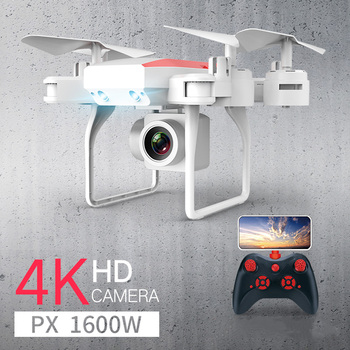 New RC Drone Helicopter WiFi FPV With Camera 4K 16MP HD Aerial Photography RC Quadcopter Drone Altitude Hold Quadrocopter Dron syma official x8g dron with camera hd wide angle 2 4g 4ch 6 axis with 8mp 360 degree rotating rc drone rc gift quadrocopter