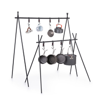 Naturehike ChenYi Aluminum Alloy Hanging Rack Outdoor Camping 8kg Bearing Weight Triangular Rack Tableware Clothes Storage Rack