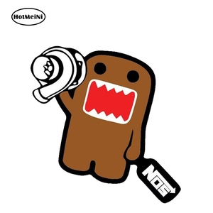 HotMeiNi 12cm x 9.7cm Funny Domo Kun Vinyl Stickers JMD Auto Moto Car Van Truck Window Tuning Decals Sticker Motorcycles Decor