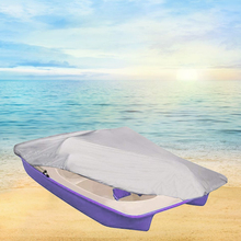 Sunproof серый водостойкий 286x122 см защита пылезащитный швартовочный Педальный чехол для лодки ткань Оксфорд для улицы сверхмощный
