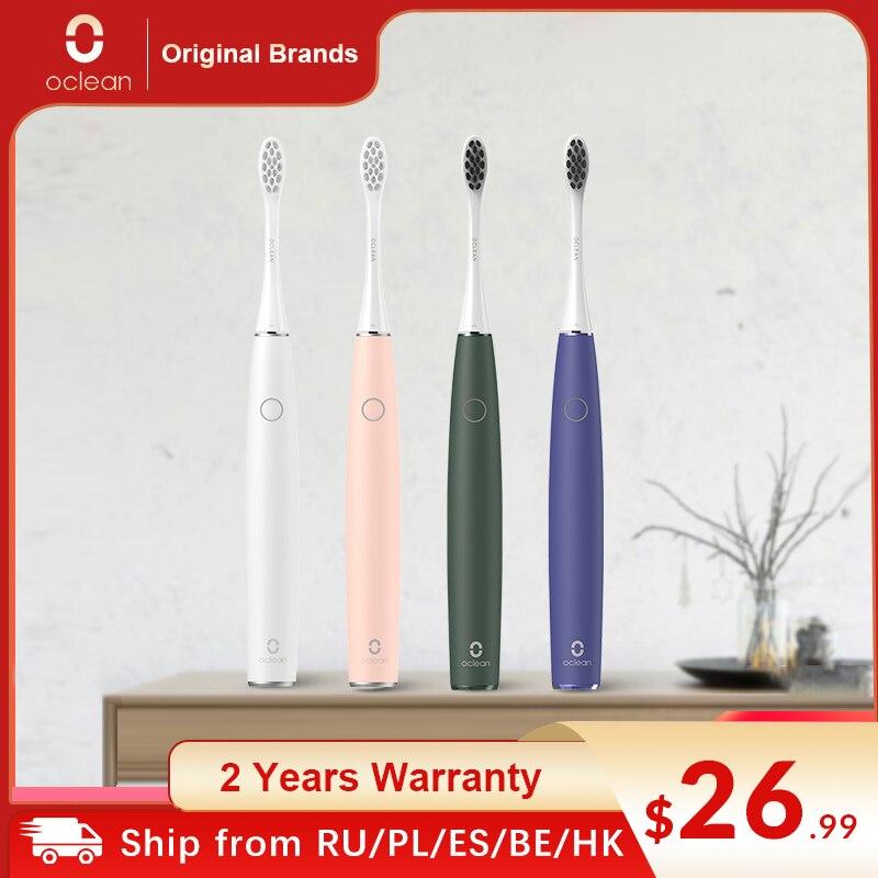 Oclean Air 2 brosse à dents électrique sonique propre sans bruit nettoyage doux dents magnétique charge rapide dernière 40 jours brosse à dents