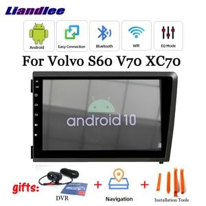 Samochodowy odtwarzacz multimedialny dla Volvo S60/V70/XC70 2000 ~ 2009 Radio Android uk akcesoria wideo stereofoniczne System nawigacji GPS