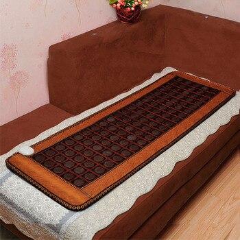 2017 High Sale Infrared Heated Tourmaline/Germanium Stone Massage Mat Korea Mattress Heating Massage Korea Tourmaline Mat